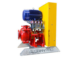 Slurrypro horizontal slurry pump