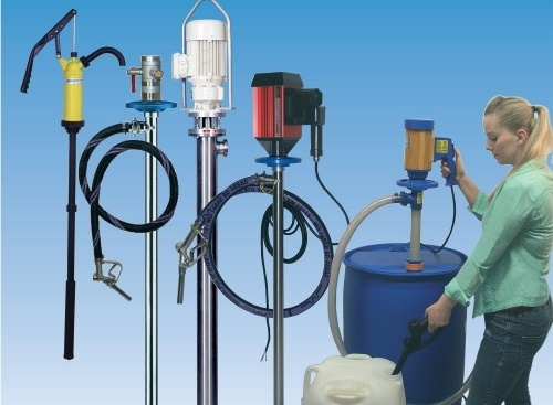 drum pump range for chemicals