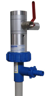 Air operated drum pump options