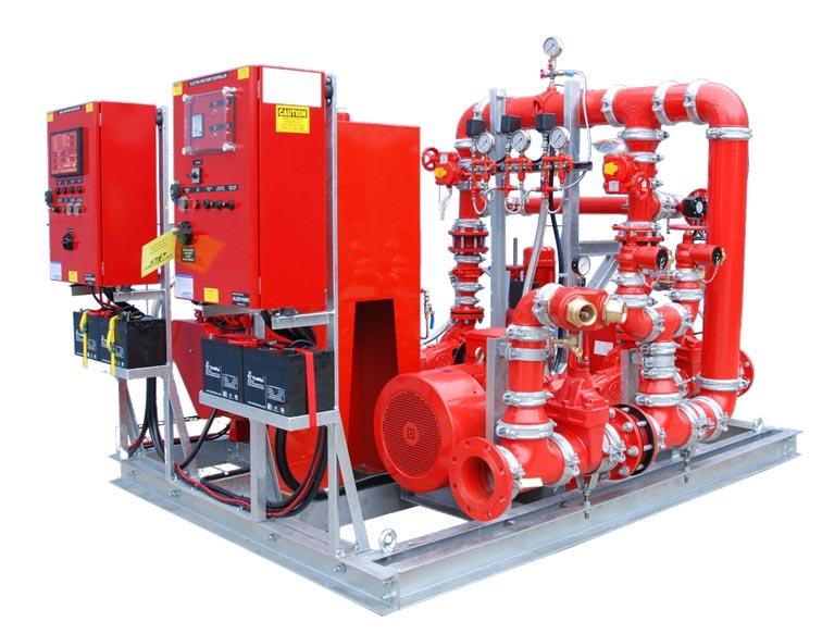 GPFS Fire-Pump-System