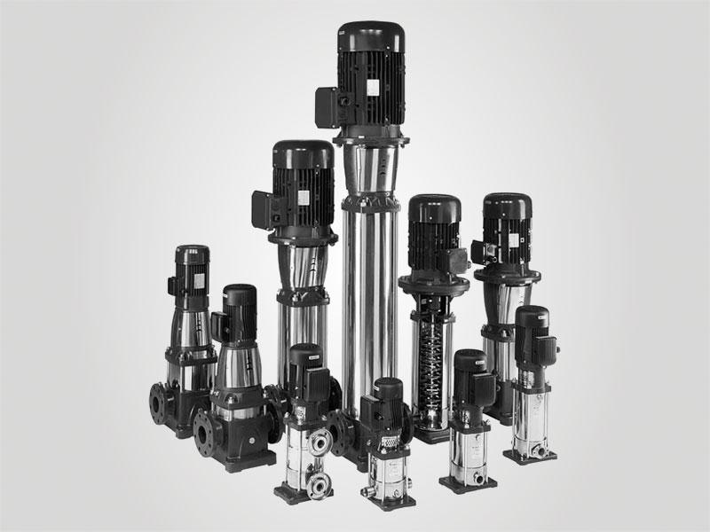 Multi-stage-pumps