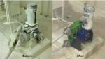 Hose pump replaces troubled diaphragm metering pump