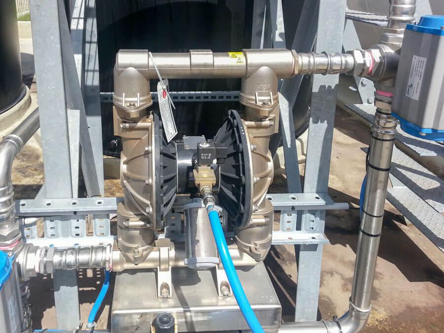 Air operated diaphragm pump global pumps stainless steel aodd pump ccuart Choice Image
